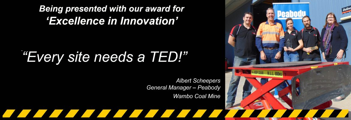 Peabody innovation award slide
