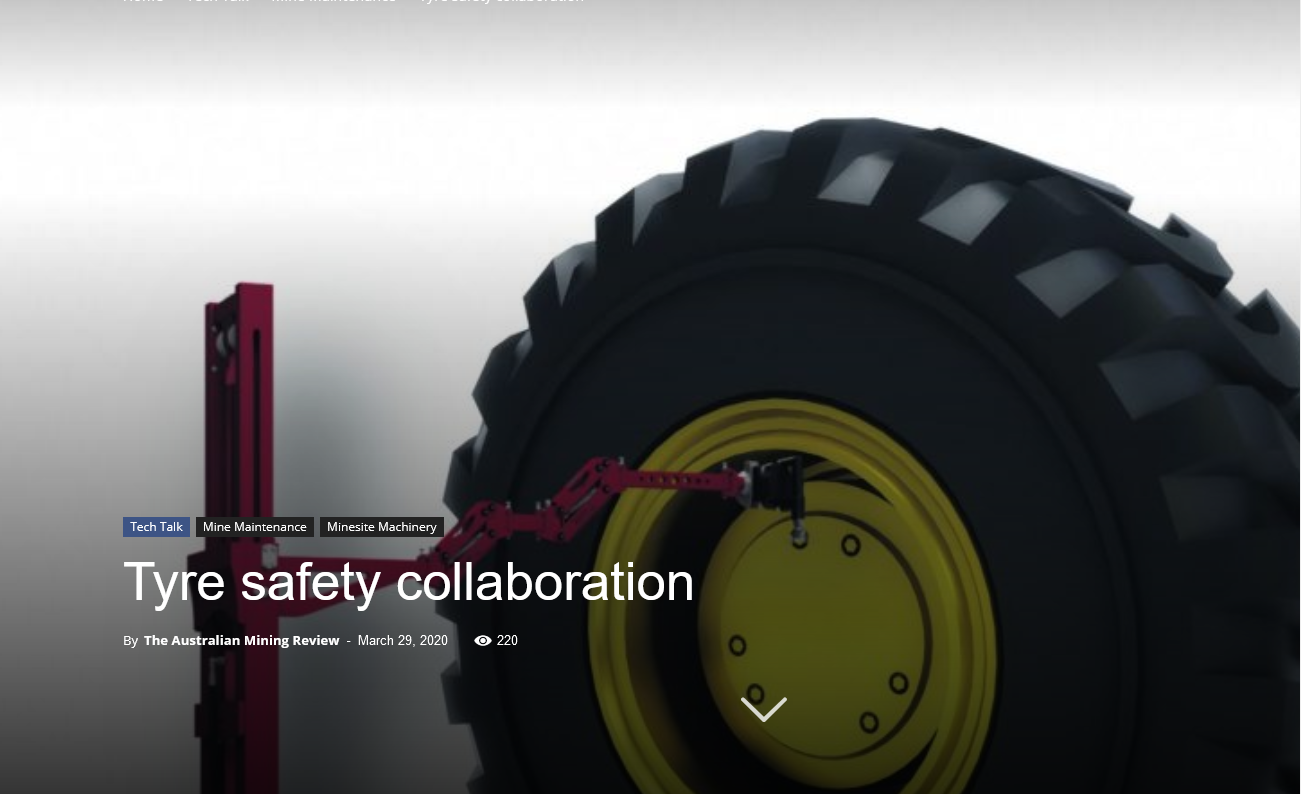 Tyre Safety Collaboration – Australian Mining Review